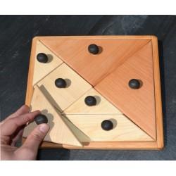 Grand tangram boutons